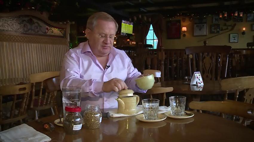 Чай от шлаков при переедании