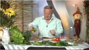 Рецепты травника: салат из топинамбура