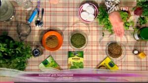 Кориандр и кинза - это разные части одного растения