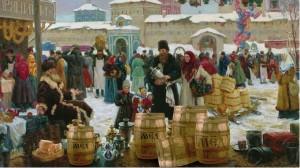 Мёд на Руси выдерживали в бочках
