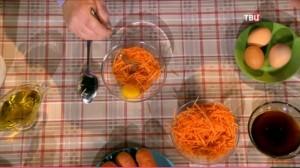 Маска из тертой моркови
