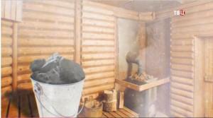 Баня и березовый уголь