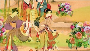 Пионы в Древнем Китае
