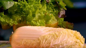 Зеленый салат – для здоровья сосудов