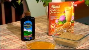 Масло расторопши и шрот из ее семян – лучшие гепатопротекторы