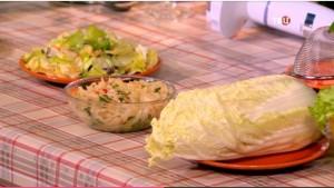 Малокалорийные блюда из салата