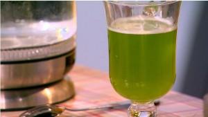 Салатный напиток от бессонницы