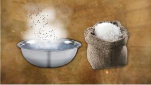 Пищевая соль – от боли в спине