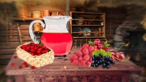 Клюквенные и другие ягодные морсы