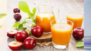 Свежевыжатый сливовый сок – при язве желудка
