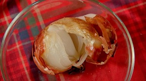 Запеченная луковица – при отите