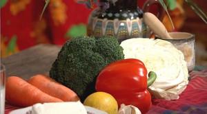 Каротин в овощах